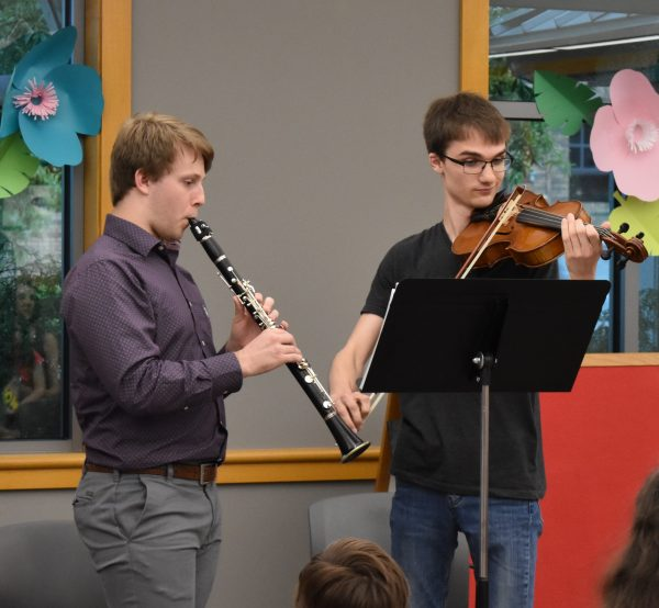 ASYO Musicians Performing at the Thompson branch of CALS
