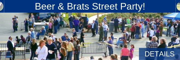 FREE Beer & Brats Street Party | Details